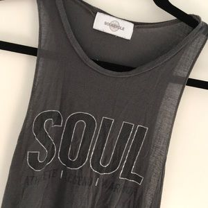 FREE with purchase Soulcycle sleeveless tank